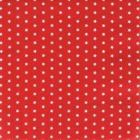 Serviettes de table 33x33 cm - Mini Stars rouge