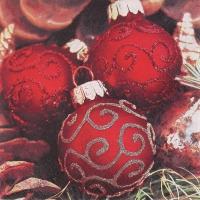 Lunch Servietten Classy Christmas Balls