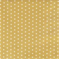 Serviettes de table 33x33 cm - Mini Etoiles or