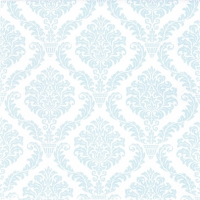 Serviettes lunch Elegant light blue