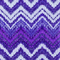 Servilletas Lunch Knitted Chevron berry