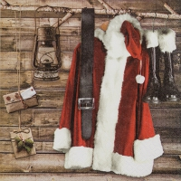 Servilletas Lunch Santas Wardrobe