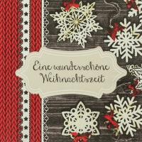 Serwetki 33x33 cm - Wundersch´ne Weihnacht