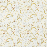 Lunch napkins Graphic Ilex gold