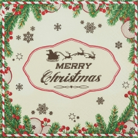 Lunch napkins Have a Merry Christmas