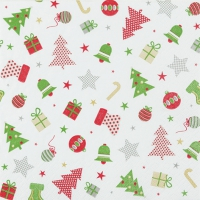Lunch napkins Christmas Icons classic