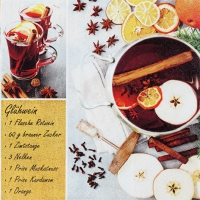 Serviettes lunch Glogg Recipe