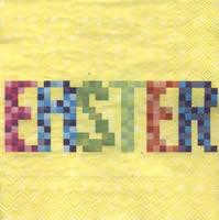 Lunch Servietten Easter Pixel