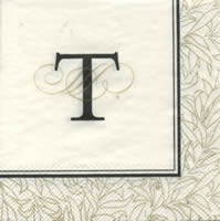 Cocktail napkins FLOURISH T