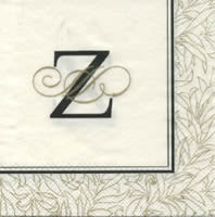 Cocktail napkins FLOURISH Z