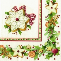 Cocktail napkins CHRISTMAS BAKERY COOKIES V & B