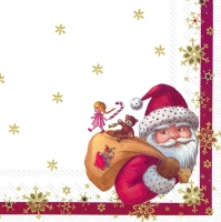 Cocktail napkins TOYS SANTA (V&B)