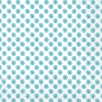 Cocktail Servietten CUTE PATTERN white blue