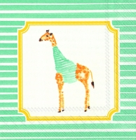 Cocktail napkins GIRAFFE