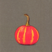 Cocktail napkins PUMPKIN PARTY brown