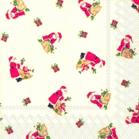 Cocktail napkins LITTLE SANTA