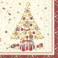 Cocktail napkins CHRISTMAS BAKERY TREE (V&B)