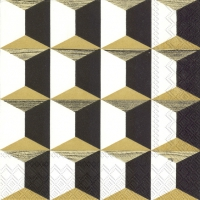 Serviettes de table 25x25 cm - ARISTOCRAT or