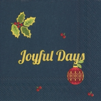 Cocktail Tovaglioli JOYFUL DAYS blue