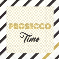 Cocktail Tovaglioli PROSECCO TIME gold