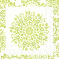 Cocktail napkins LILLY light green