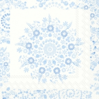 Cocktail napkins LILLY light blue