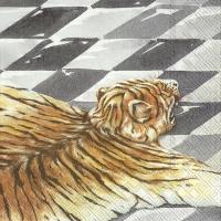 Tovaglioli 25x25 cm - MISS SOPHIE TIGRE