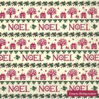 Servilletas 25x25 cm - Noel