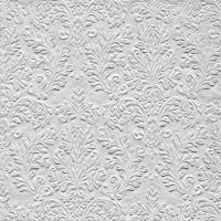Servietten 33x33 cm - CAMEO UNI silber