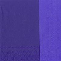 Servietten 33x33 cm - DOUBLO violett violett