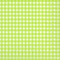 Napkins 33x33 cm - VICHY light green