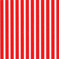 Lunch Servietten Stripes again red