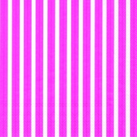 Napkins 33x33 cm - STRIPES AGAIN pink