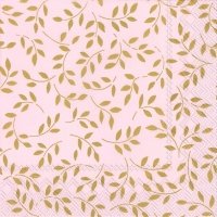 Lunch napkins FOLIA rose gold