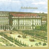 Lunch Servietten Schönbrunn