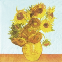 Lunch napkins VAN GOGH : SUNFLOWERS