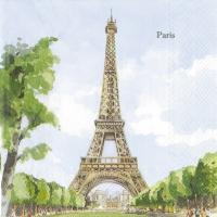 Serviettes lunch PARIS