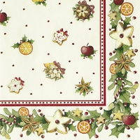 Lunch napkins CHRISTMAS BAKERY COOKIES V & B