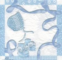 Lunch Servietten BABY SHOWER blue