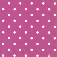 Lunch Servietten LITTLE DOTS pink