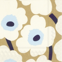 Lunch napkins UNIKKO cream gold