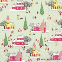 Lunch napkins LITTLE WINTER TOWN