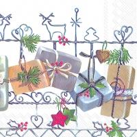 Lunch Servietten CHRISTMAS TRELLIS