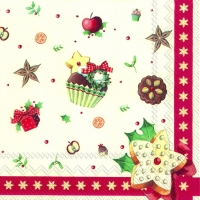Lunch napkins CHRISTMAS BAKERY ALLOVER (V&B)