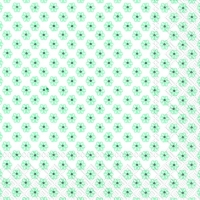 Lunch Servietten CUTE PATTERN white mint