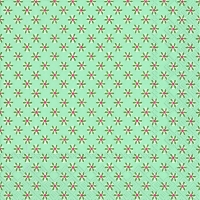 Serviettes de table 33x33 cm - CUTE PATTERN bleu vert bleu vert