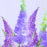 Lunch Servietten BUDDLEIA light lilac