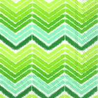 Lunch Servietten IKAT STRIPE green