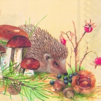 Serviettes lunch NOSY LITTLE HEDGEHOG