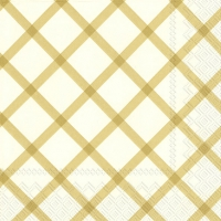 Lunch napkins QUILT gold